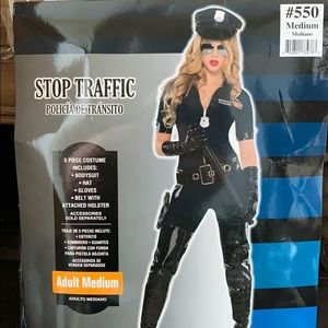 Stop traffic cop Custmer for woman medium
